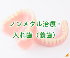 ノンメタル治療・ 入れ歯(義歯)